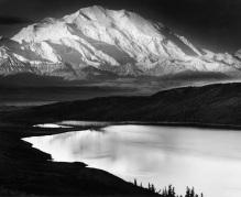 Mount McKinley at 20,320 feet is the highest peak in North America.