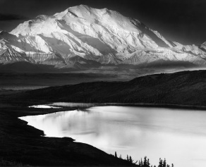 Mount McKinley at 20,320 feet is the highest peak in North America.