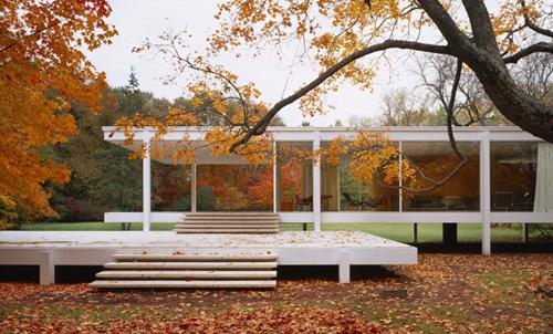 Casa Farnsworth, Plano (Texas), Ludwig Mies Van der Rohe, 1950