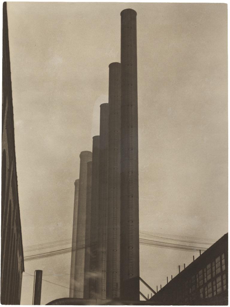 Steel: Armco, Middletown, Ohio, Edward Weston, 1922