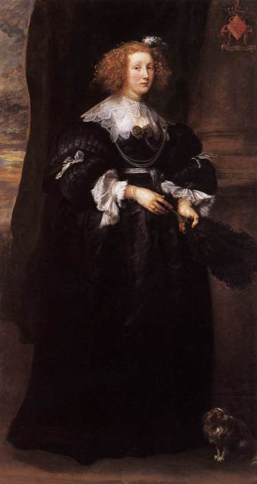 Anton Van Dyck, Marie de Raet, 1627