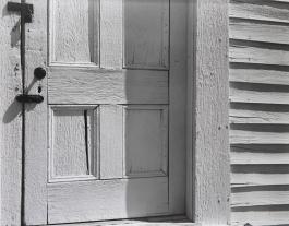 Church door , Hornitos, Edward Weston, 1940