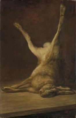 Dead_Hare_by_Piet_Mondrian
