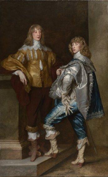 Anton Van Dyck, Lord John Stuart y Lord Bernard Stuart, 1638