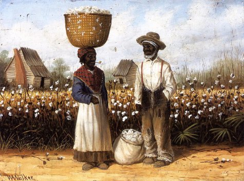 pareja-esclavos-Cotton-Pickers
