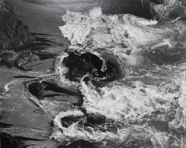 Surf, China Cove, Point Lobos, Edward Weston, 1938
