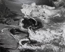 Surf, China Cove, Point Lobos, Edward Weston, 1938